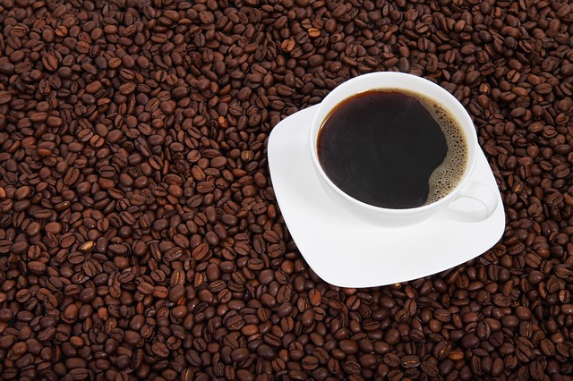 caffeine and L-Theanine in a cup of coffee