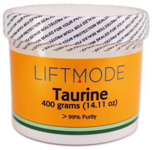 Liftmode's Taurine jar 400 grams