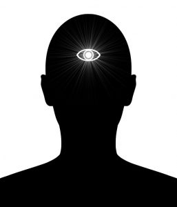 third eye silhouette