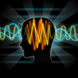 brain waves illustration