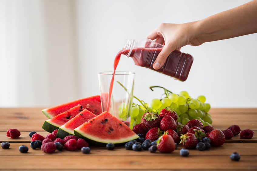 Fruit and berry juice: a great antioxidant for weight loss