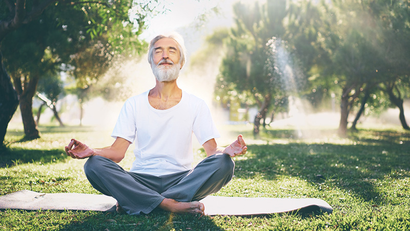 meditate for a healthy mind